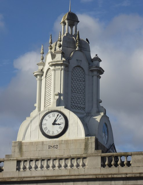Town House clock tower