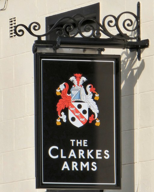 Sign of the Clarkes Arms