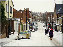 SO6024 : Gloucester Road in the snow by Jonathan Billinger