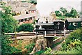 SY9682 : GWR 0-6-0ST no.813 crossing Sandy Hill Lane on the Swanage Railway by Jonathan Hutchins