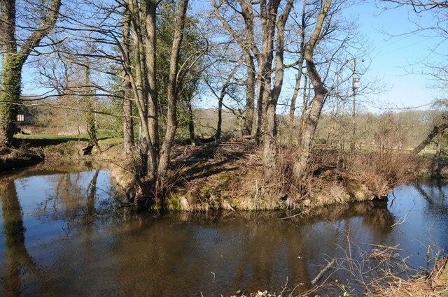 Moat at Lower Brockhampton