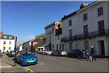 SP3265 : Church Terrace, looking towards New Street, Royal Leamington Spa by Robin Stott