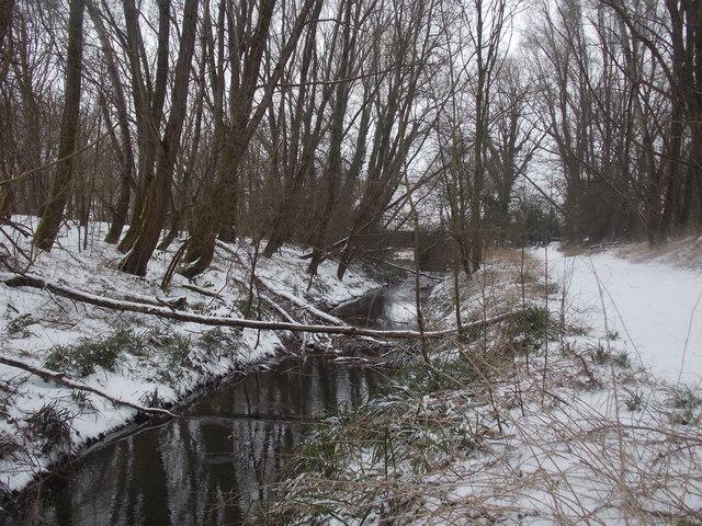 Bear Cross: approaching Ringwood Road from Millhams Mead