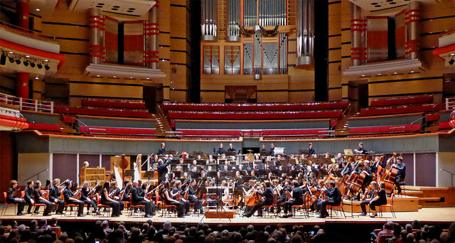 Symphony Hall in Birmingham