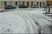 SX9164 : Parkfield Road meets Upton Road in the snow by Derek Harper