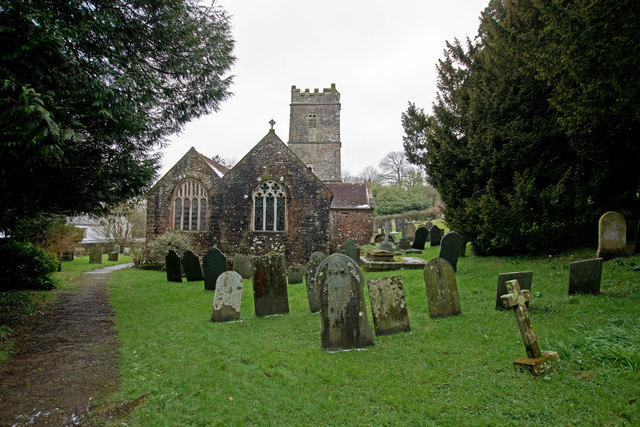 The church of St. Swithun, Littleham