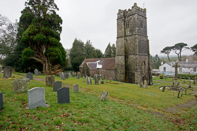 The church of St. Swithin, Littleham