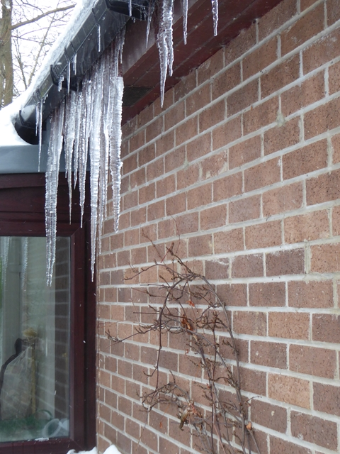 when icicles hang