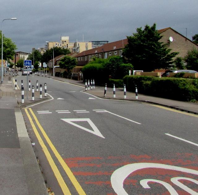 Adelaide Street traffic calming, Cardiff