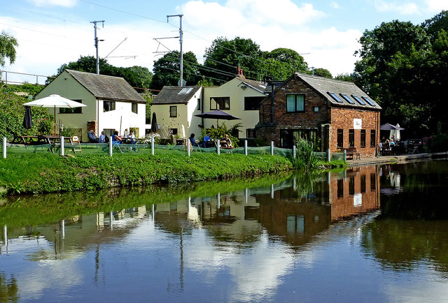 Trent and Mersey Canal near Great Haywood, Staffordshire