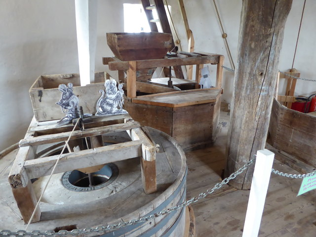 Stevens' Mill, Burwell - complete with rodents