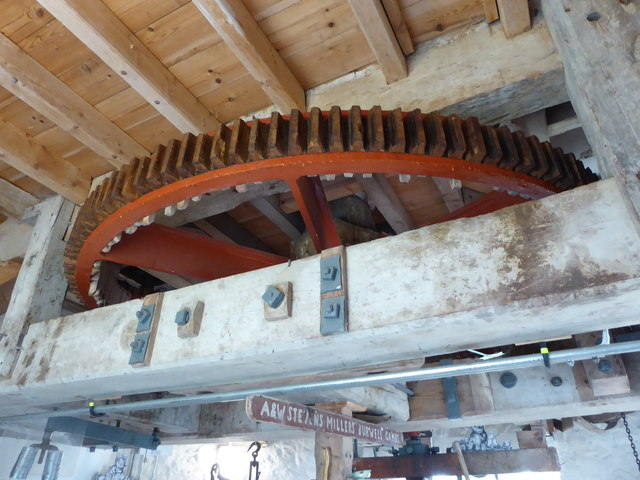 Stevens' Mill, Burwell - great spur wheel