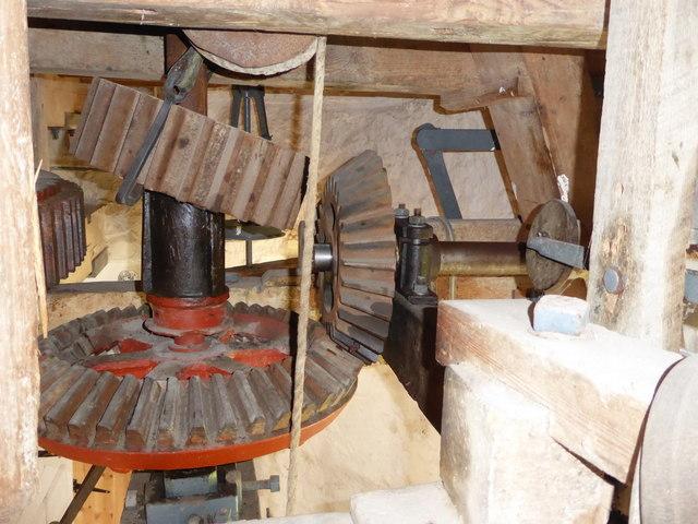 Stevens' Mill, Burwell - external drive