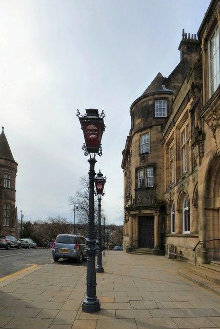 Lampposts on Corn Exchange Street