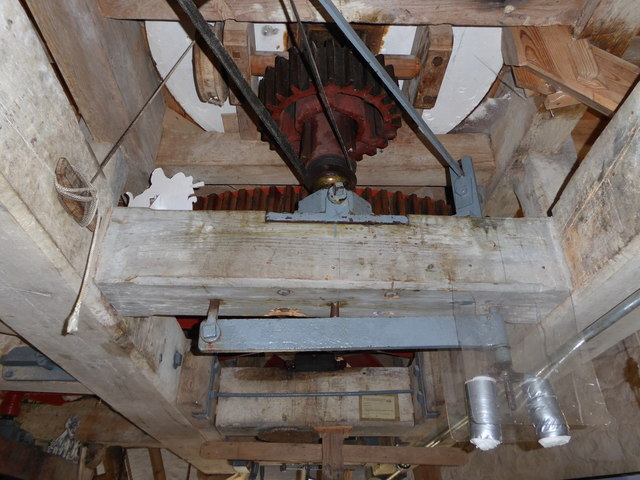 Stevens' Mill,Burwell - stone nut