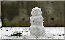 SX9164 : Snowman, Upton Park by Derek Harper
