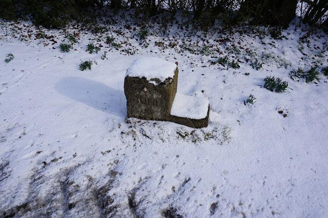 Mile Stone near Weedley