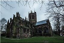 SJ6552 : St. Mary's Church, Nantwich by Brian Deegan