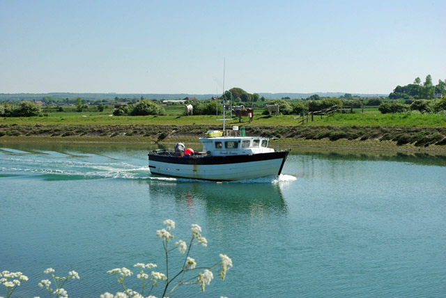 'Sarah Louise' on the River Arun
