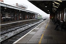 SO8455 : Foregate Street Station by Philip Halling