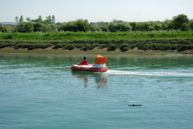 Hovercraft on the River Arun