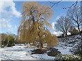TQ4577 : Rockciffe Gardens in winter by Marathon