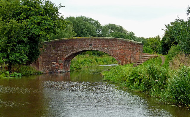 Bridge No 68 south-west of Colton in Staffordshire