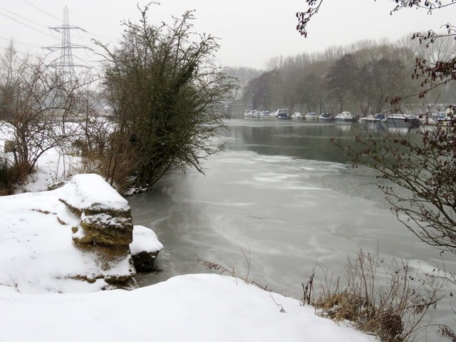 The River Thames in Kennington