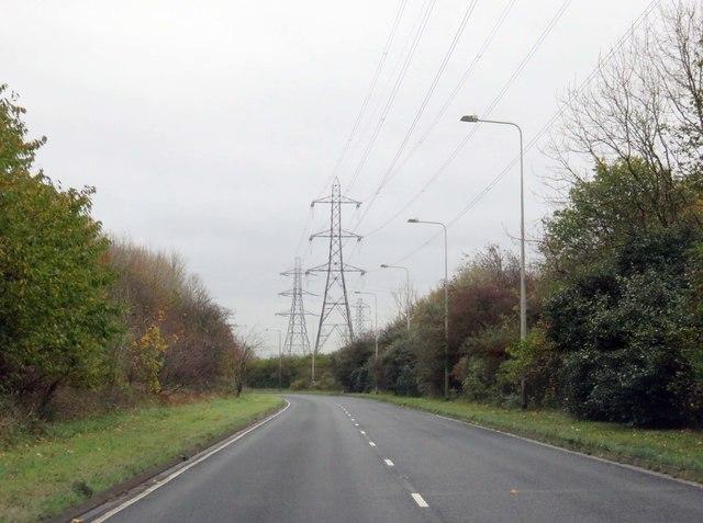 Riversway heading towards Preston