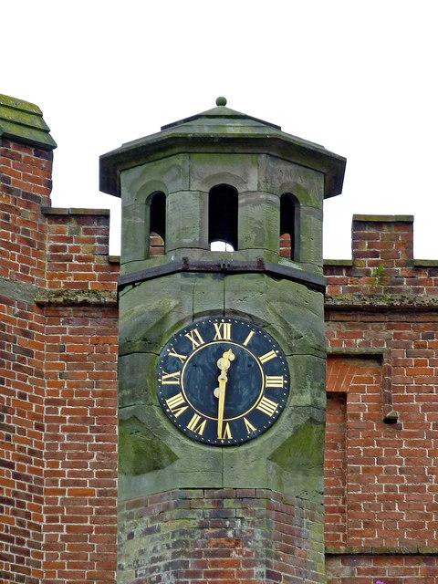 Hawkesyard Hall (detail) near Armitage in Staffordshire