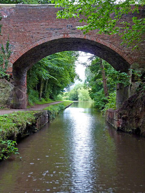 Bridge No 60 near Armitage in Staffordshire