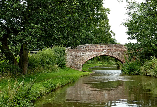 Tuppenhurst Bridge east of Handsacre in Staffordshire