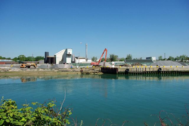 Aggregates wharf and Tarmac depot, Littlehampton