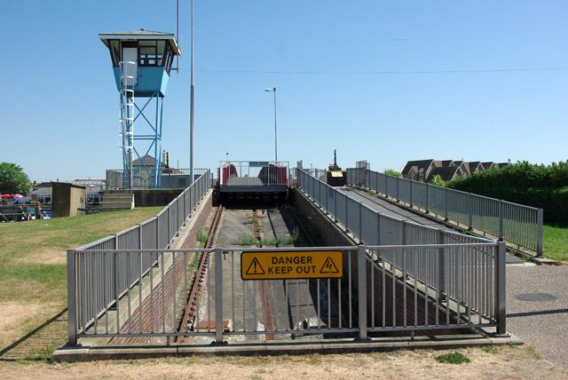 Pit, retracting bridge, Littlehampton