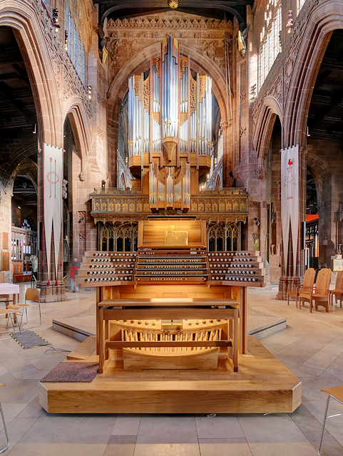Manchester Cathedral Stoller Organ