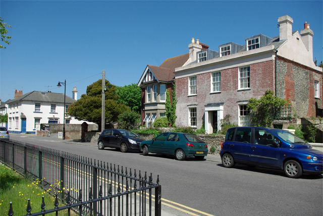 Houses on River Road, Littlehampton