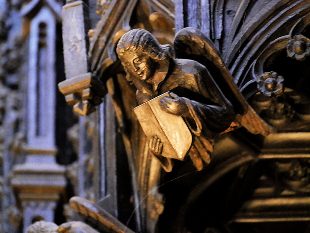 Mediaeval Carving, Manchester Cathedral Quire