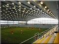NS5961 : Indoor pitch, Toryglen Regional Football Centre by Richard Sutcliffe