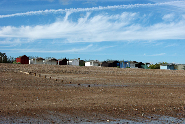 Beach huts, Rustington