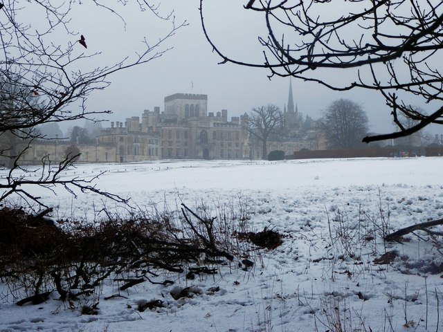 Ashridge in the snow