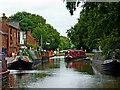 SK1414 : Fradley Junction in Staffordshire by Roger  Kidd