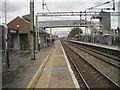 TQ6376 : Tilbury Town railway station, Essex by Nigel Thompson