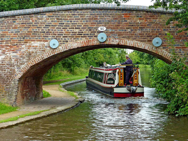 Fradley Bridge in Staffordshire
