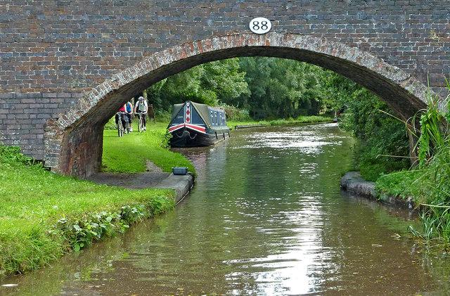 Brookhay Bridge near South Fradley in Staffordshire