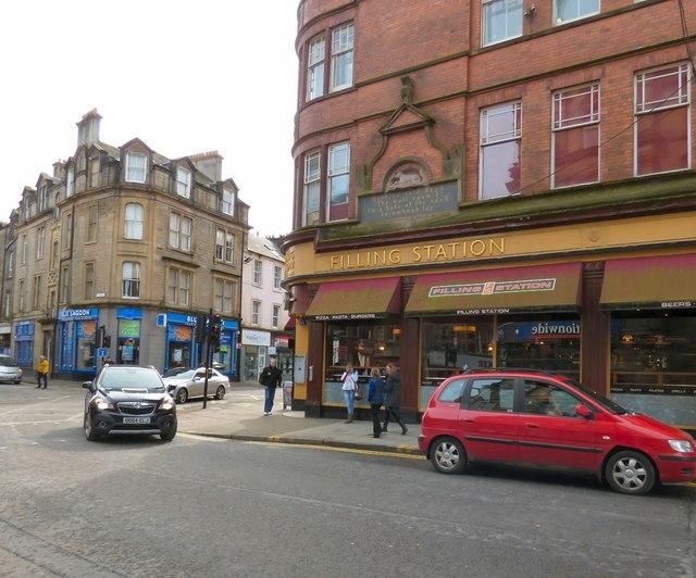 Corner of Dumbarton Road and Port Street