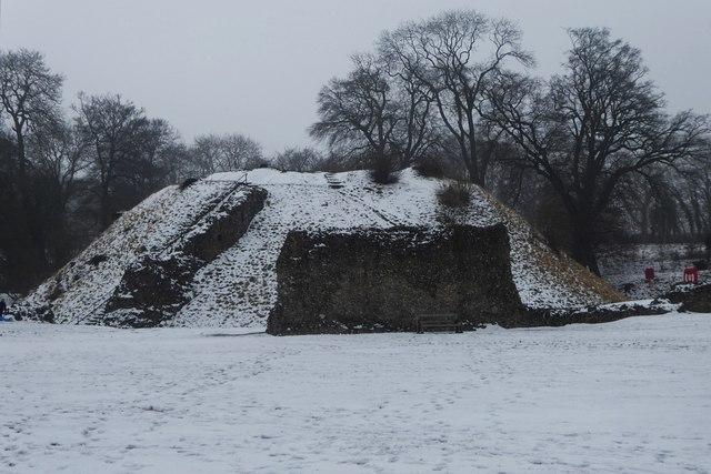 Berkhamsted Castle motte