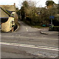 SP2512 : Junction of Beech Grove and the A361, Fulbrook, West Oxfordshire by Jaggery