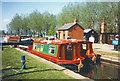 TL7708 : Hire Boats in Paper Mill Lock by Des Blenkinsopp