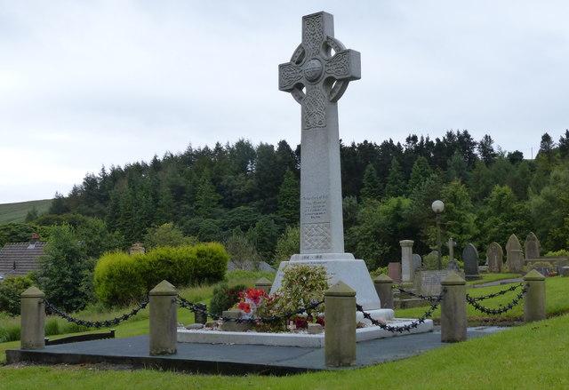 War memorial at St Peter's Church, Belmont