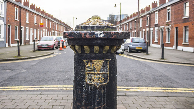 Old post, Belfast